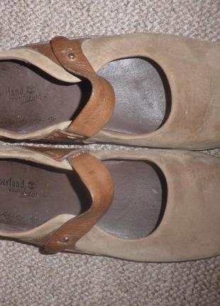Ортопедичні  шкіряні зручні балетки туфлі мокасини від timberland timberland в наличии