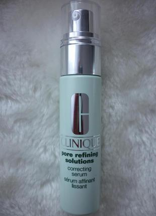Cliniquepore refining solutions очищающая сыворотка для кожи лица