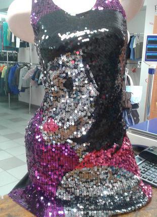 Платье с поедками