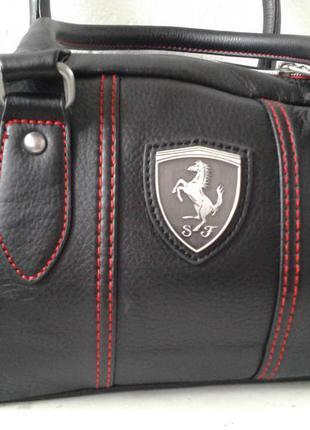 Стильная сумка новая оригинал puma ferrari