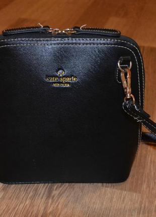 Черная сумочка маленька сумка kate spade