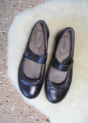Кожаные туфли мокасины hush puppies!!!