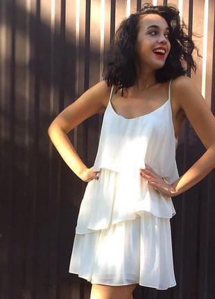 Платье на тонких бретельках topshop