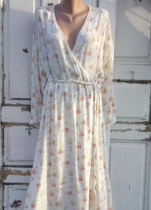 Длинный халат laura ashley