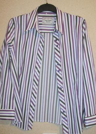 Gerry veber  рубашка в полоску р 50