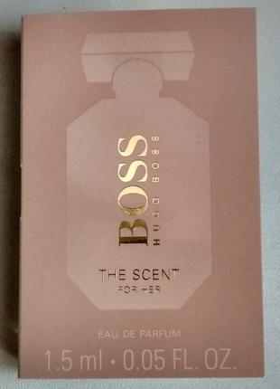 Пробник hugo boss the scent for her