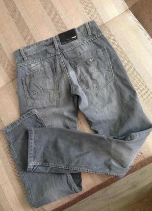Крутые актуальные джинсы штаны бойфренды armani vogue