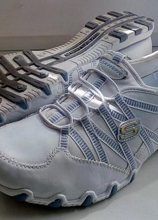 Skechers фирменные кроссовки балетки макасоны оригинал 41-42 размер