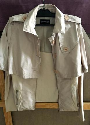 Patrizia pepe оригинал весенняя куртка плащ размер s, m