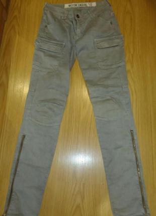 Супер джинсы с замочками)