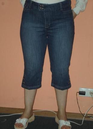 Классные джинсовые бриджи от бренда lee