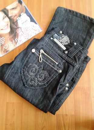 Классические прямые джинсы roberto cavalli оригинал