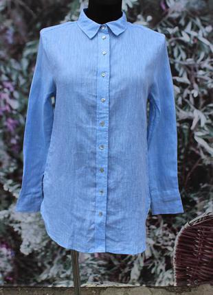 Рубашка h&m 100% лен
