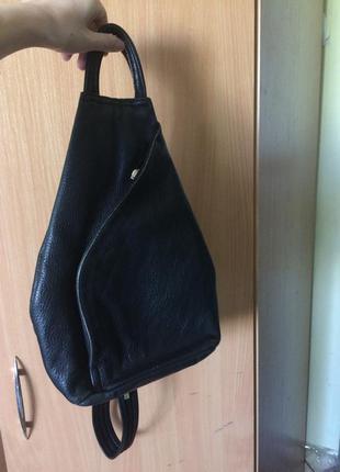 Рюкзак шкіряний valentino