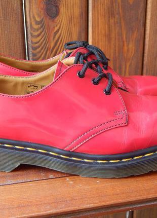 Полуботинки, туфли на низком каблуке dr. martens, р-р 40