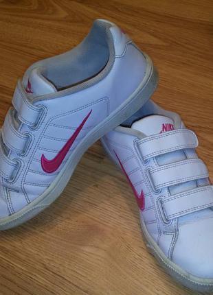 Кожаные кроссовки nike оригинал 38