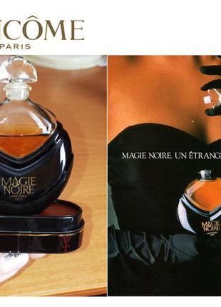 Lancôme parfum magie noire 15 ml vintage оригинал 1986 год выпуска