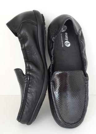 39-40размер кожаные туфли мокасины 41751