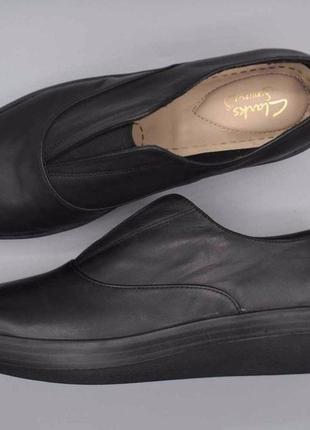 Clarks черные кожаные туфли размер 34, 34. 5, 36, 36. 5, 38. 5