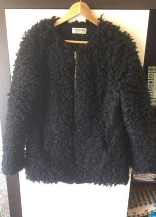 Женская чёрная кофта кардиган