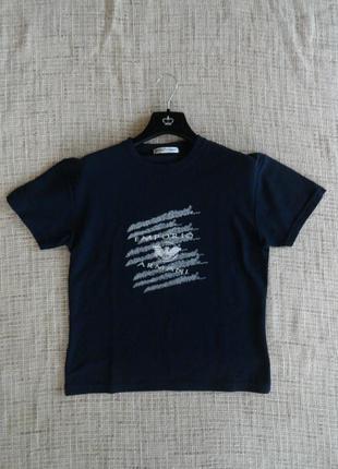 Классная футболочка emporio armani / смотрите замеры
