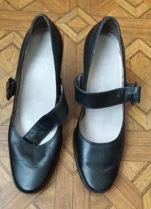 Туфли кожаные carnaby с пряжкой