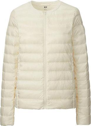 Оригинальная cверхлёгкая куртка пуховик uniqlo,юникло, размер  м