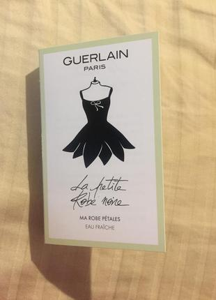 Пробник guerlain la petite robe noire