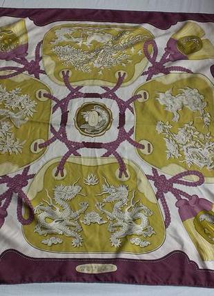 Шелковый платок hermes tsubas