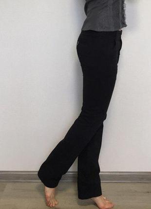 Черные плотные штаны
