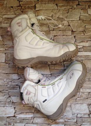 Зимнее ботинки salomon