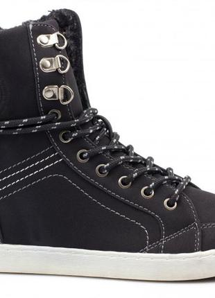 Распродажа - модные фирменные ботинки хайтопы тм plato 36-41 размеры