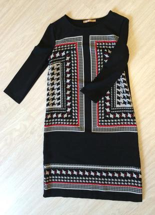 Платье гусиная лапка zarina