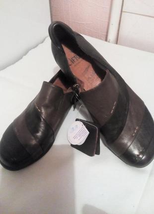 Кожаные туфли.caprice.германия.размер 37,5