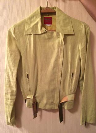 Льняной пиджак kenzo jungle