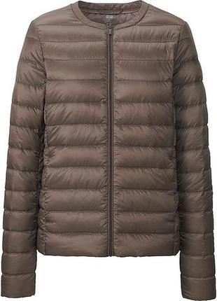 Оригинальная cверхлёгкая куртка пуховик uniqlo, юникло, размер s