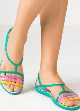 Оригинальные кроксы crocs isabella sandal, размеры 37, 38