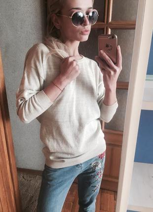 Кофта блуза с блёстками