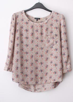 Легкая приятная блузка warehouse • s-m (примерно на грудь 84-92 см)