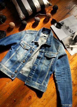 Джинсовая куртка jack&jones