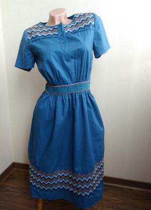 Очень красивое платье с вышивкой hobbs n.w.3