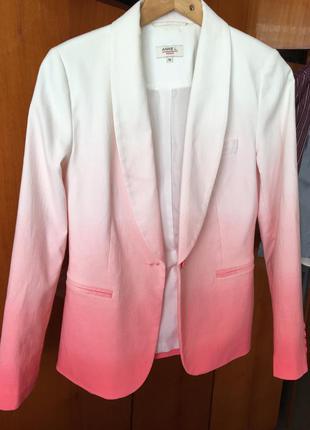 Супер крутецкий пиджак омбре