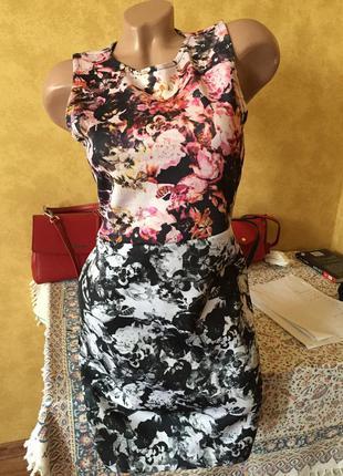 Супер стильное платье 46р