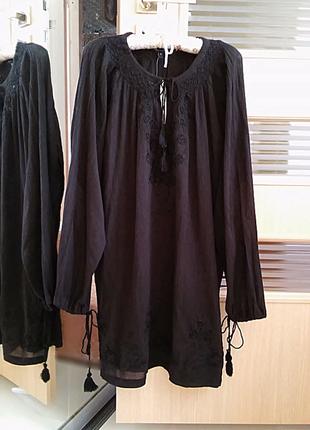 Натуральне плаття-туніка french connection,p.s-м