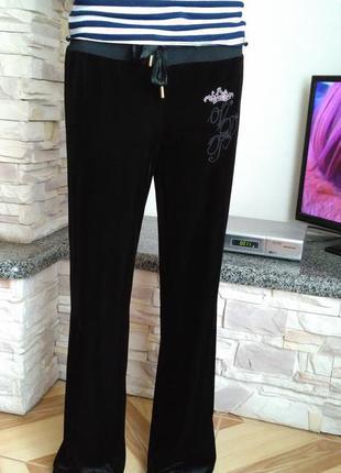 Велюровые брюки vdp xl