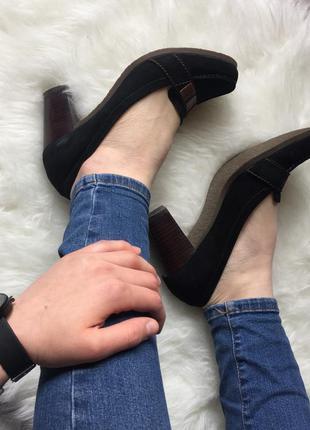 Классные замшевые туфли от respekt