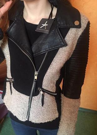 Куртка косуха пиджак кожанка