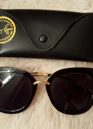 Шикарные очки miumiu линза полароид