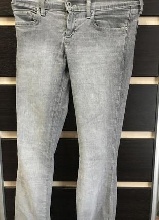 Джинсы серые motor jeans