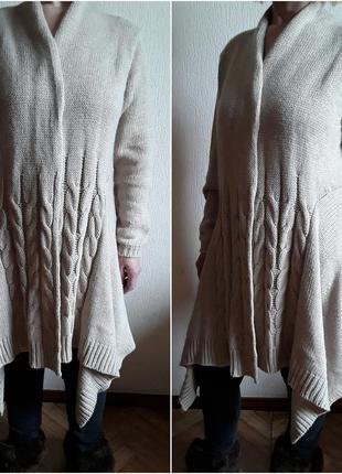 Шикарный /новый  /  теплый кардиган/ модный/бренд, biaggini